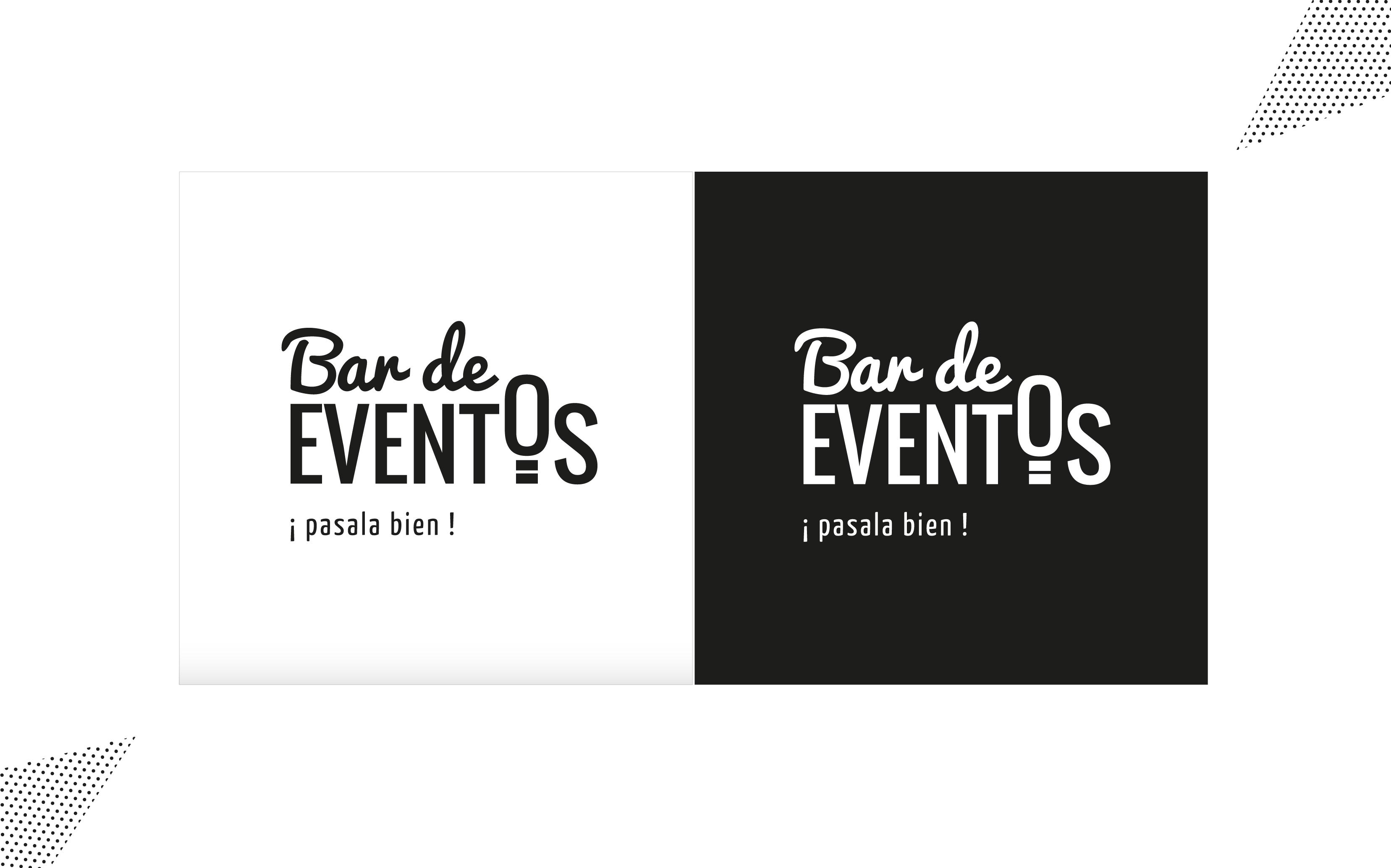 Diseño de marca Bar de Eventos