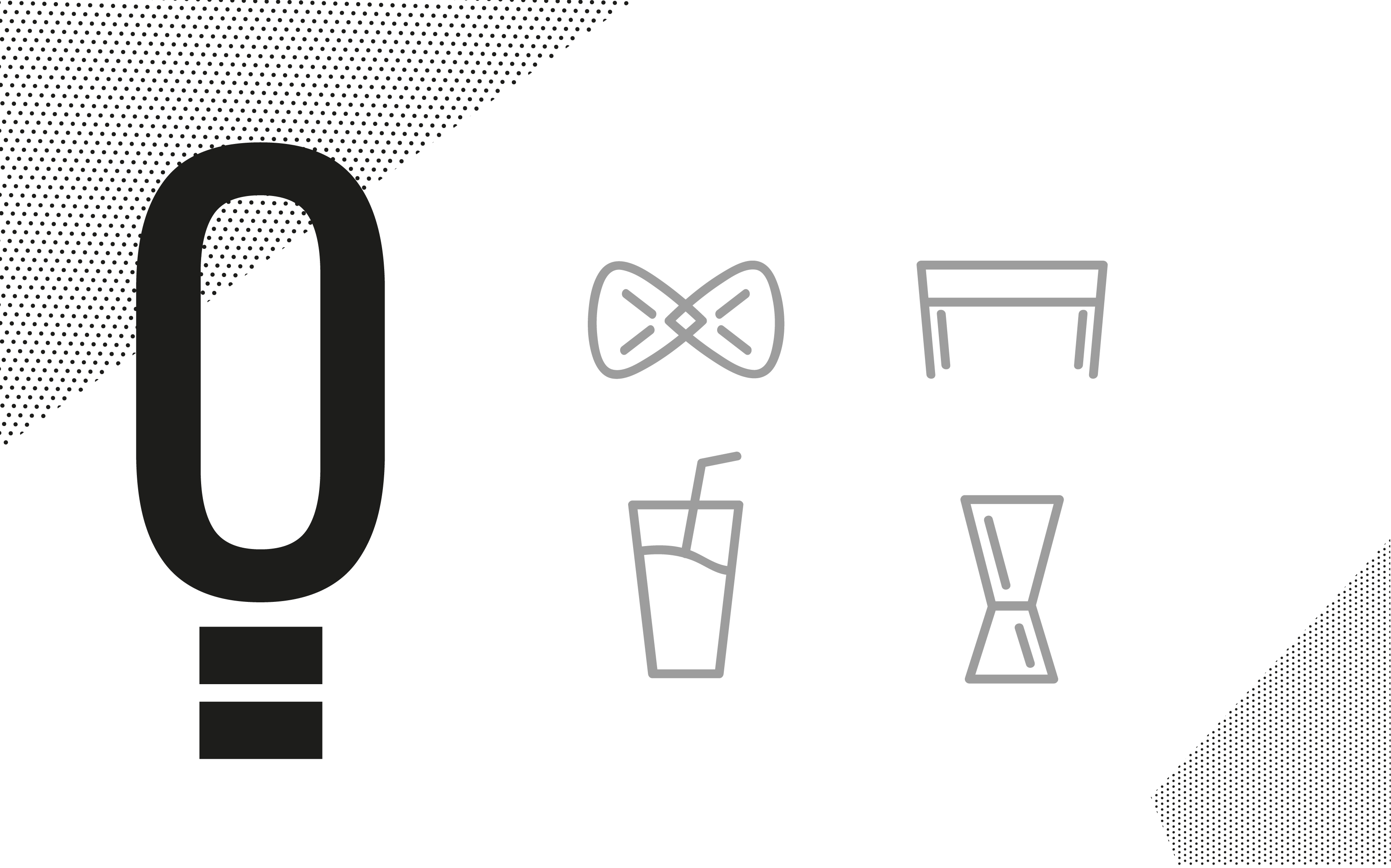 Bar de eventos elementos gráficos